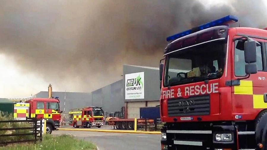 Why Do Recycling Centres Keep Catching Fire?